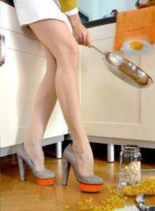 Cooking and High-heel-ing