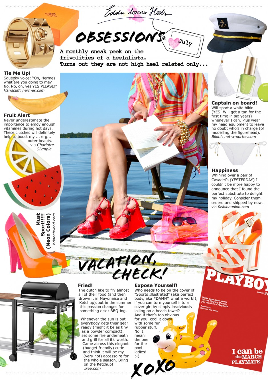 Obsessions of July